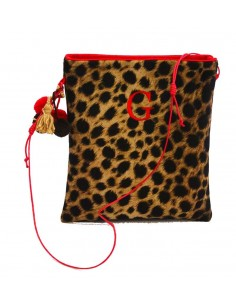 Bandolera pequeña Leopardo