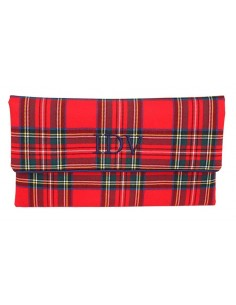 Clutch Escocés Rojo