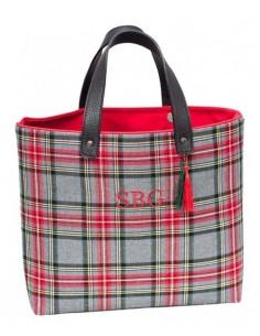 Shopper Escocés Gris