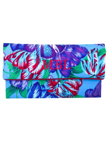 Clutch Tulipanes Azules