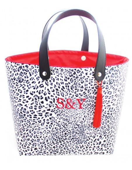 Shopper Leopardo Negro