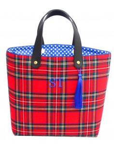 Shopper Escocés Rojo