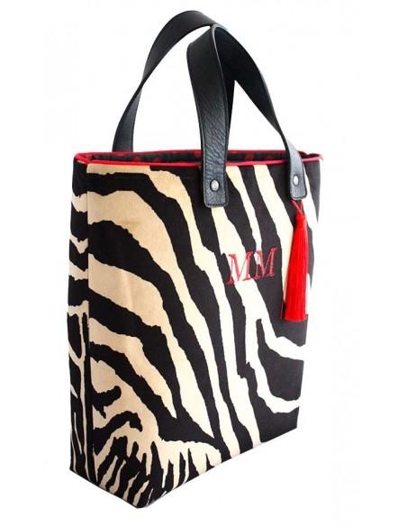 Shopper Pequeño Cebra