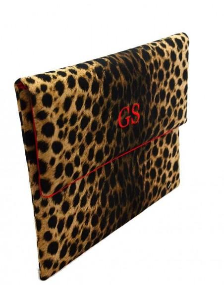 Portadocumentos Leopardo