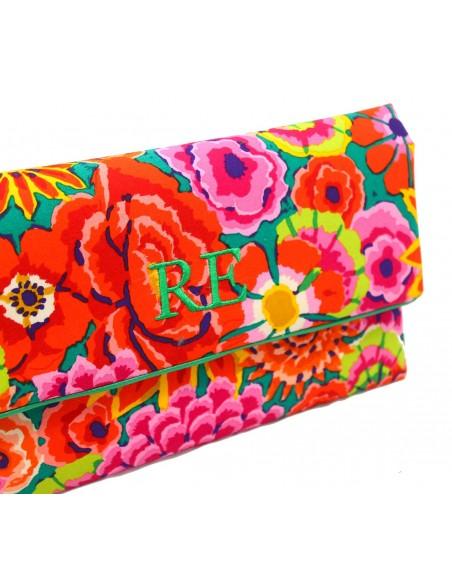 Clutch Flores de Colores