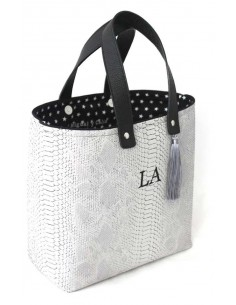 Shopper Serpiente Gris